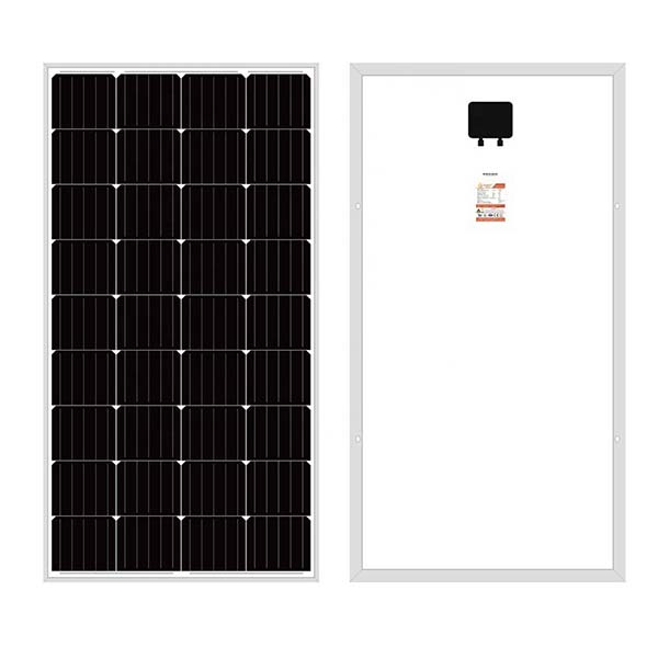 main images پنل خورشیدی 120 وات یینگلی سولار مونو کریستال مدل  YL120C-18b