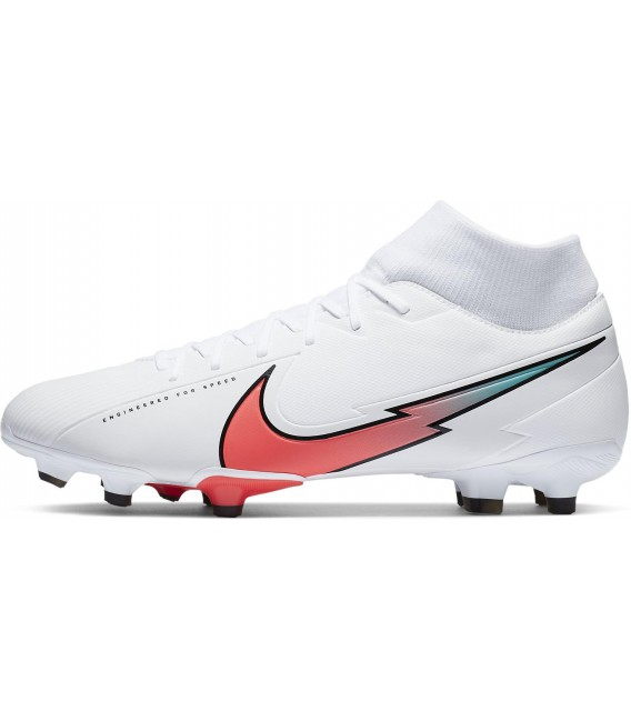 تصویر کفش فوتبال مردانه نایک مرکوریال سوپرفلای Nike SUPERFLY 7 ACADEMY FG/MG AT7946-163
