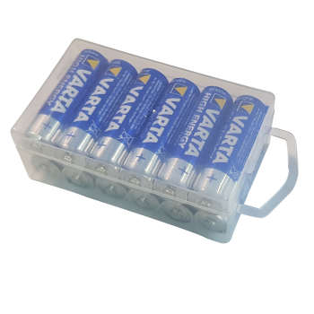 باتری قلمی وارتا مدل  High Energy Alkaline LR6AA بسته 12 عددی | Varta  High Energy Alkaline LR6AA Battery - Pack of 12