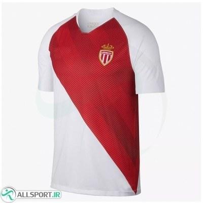 پیراهن اول موناکو As Monaco 2018-19 Home Soccer Jersey
