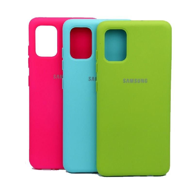 تصویر کاور سیلیکونی مناسب برای گوشی Samsung Galaxy A51