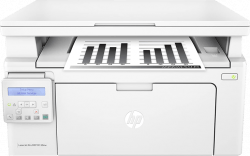 تصویر پرینتر سیاه و سفید سه کاره اچ پی لیزرجت پرو مدل MFP M130nw HP LaserJet Pro MFP M130nw Printer