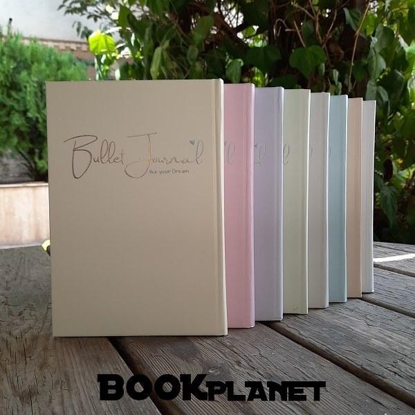 تصویر دفتر نقطه ای هفت رنگ برگ تحریر (بولت ژورنال)
