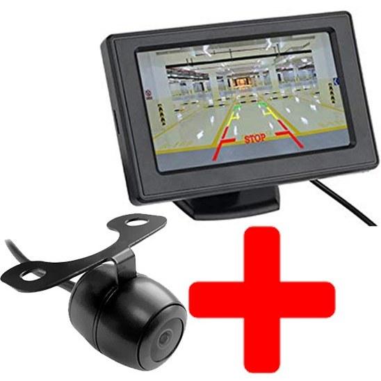 عکس مانیتور پایه دار با دوربین عقب خودرو Monitor With Camera Car Monitor Stand 4.3 Inch With Camera مانیتور-پایه-دار-با-دوربین-عقب-خودرو-monitor-with-camera
