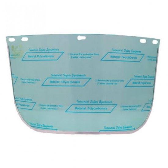 تصویر شیلد محافظ صورت شفاف ضد مواد شیمیایی پن تایوان مدل FC48