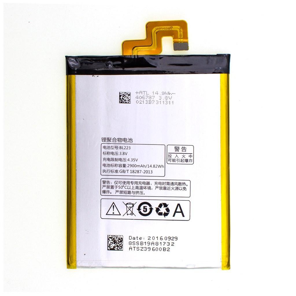تصویر باتری اورجینال لنوو BL223 ظرفیت 2900 میلی آمپر ساعت Lenovo BL223 2900mAh Original Battery