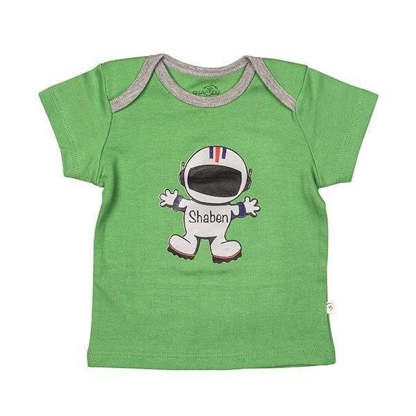 تی شرت اسپرت آستین کوتاه شابن طرح فضانورد