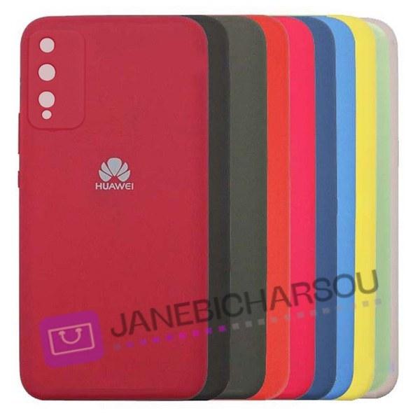 تصویر قاب سیلیکونی محافظ لنزدار هواوی Silicone Cover For Huawei Y8p 2020