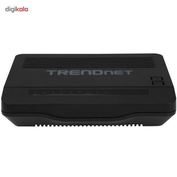 img مودم روتر +ADSL2 ترندنت مدل TEW-722BRM TRENDnet TEW-722BRM ADSL2+ Modem Router