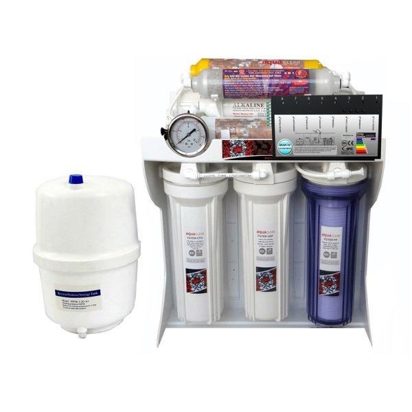 تصفیه آب خانگی هوشمند 8 مرحله ای قلیایی ساز - املاح معدنی - اسمزمعکوس آکوآکلر مدل RO-BRAIN-C172 |