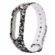 لوازم جانبی ساعت هوشمند سیلیکونی Bracelet Smart Watch Mi Band 2 دستبند طرحدار |