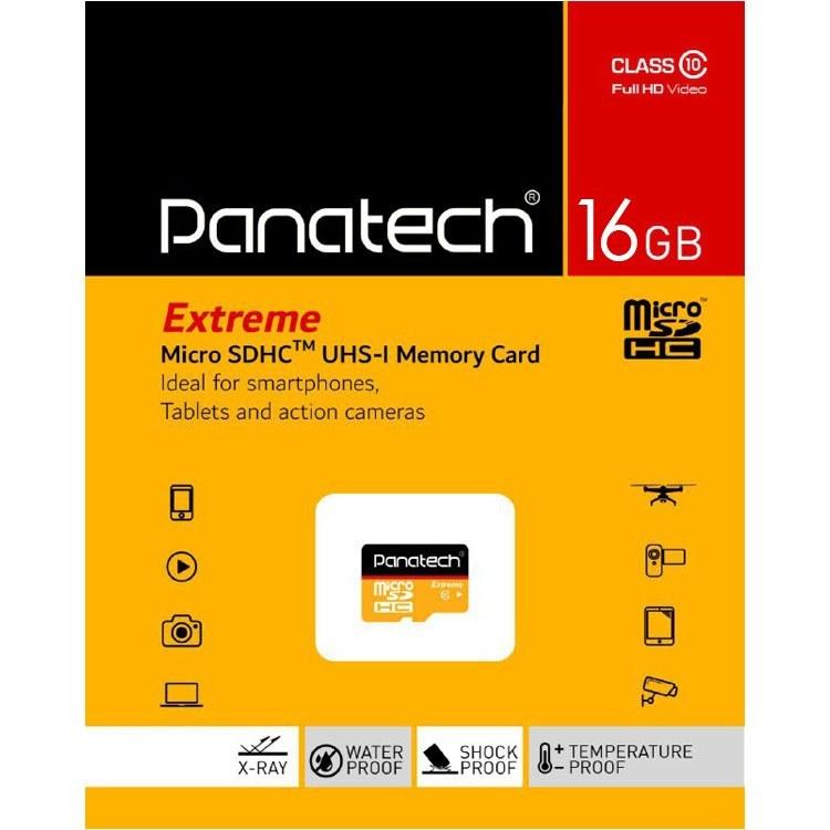 تصویر رم میکرو ۱۶ گیگ پاناتک Panatech U1 Panatech C10 16GB Micro SD Card