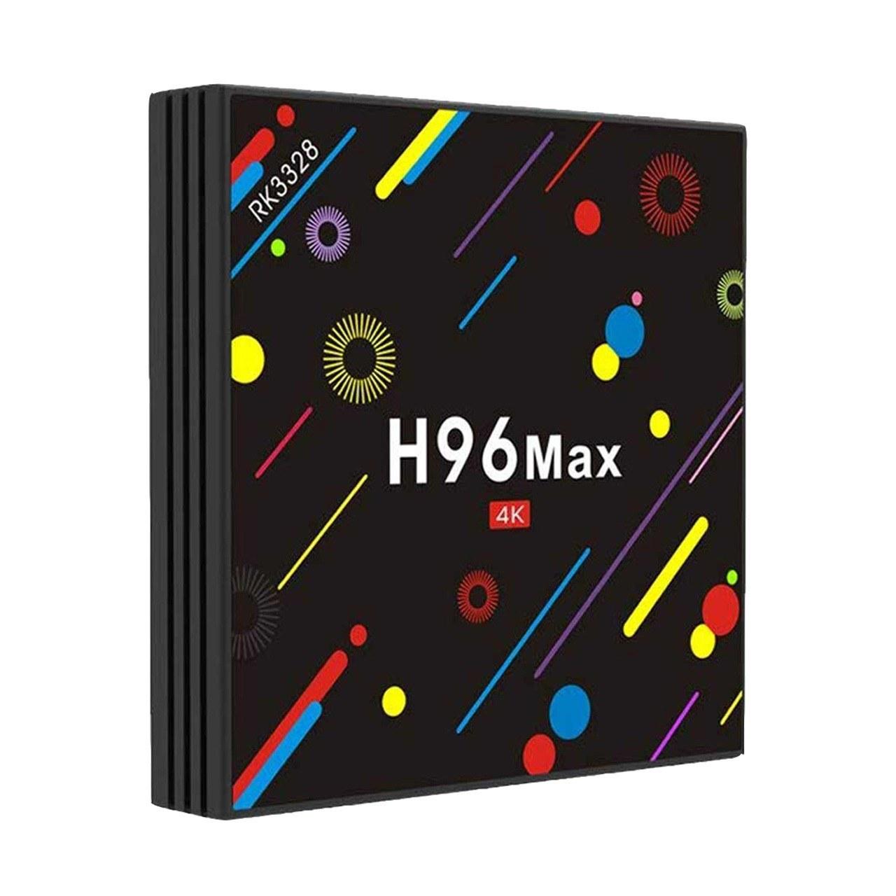 تصویر مینی کامپیوتر اندروید H96 MAX 4K سری H2