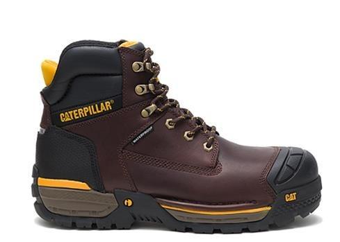تصویر کفش ایمنی مامپوزیت مردانه کاترپیلار مدل caterpillar p91086 Mens safety shoes model caterpillar-p91086