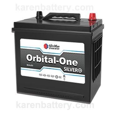 تصویر باتری 60 آمپر اوربیتال وان سیلور