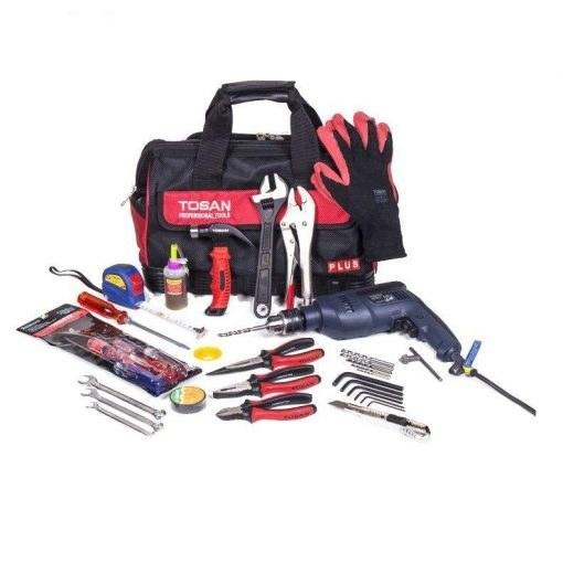 مجموعه 35 عددی ابزار توسن مدل TBR-32L-35HP | Tools Set 35PCS 32L-35H Tosan