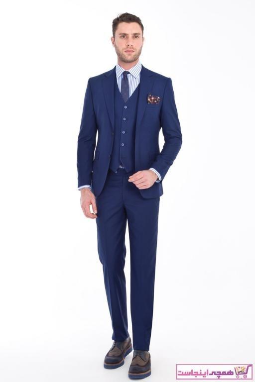 تصویر خرید پستی کت شلوار مردانه پارچه  برند Kiğılı رنگ لاجوردی کد ty34579284