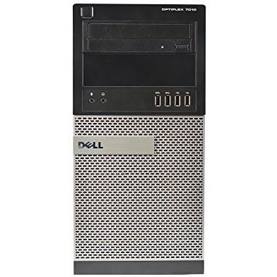 تصویر برج Dell 7010 ، Core i7-3770 3.4GHz ، رم 16 گیگابایت ، هارد دیسک 500 گیگابایت ، DVDRW ، ویندوز 10 پرو 64bit (تجدید شده)