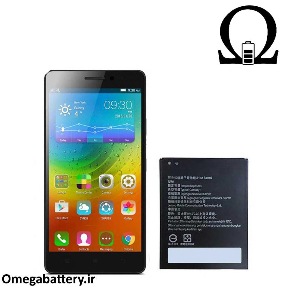 تصویر باتری موبایل لنوو مدل BL243 با ظرفیت 2900mAh مناسب برای گوشی های موبایل لنوو A7000 Lenovo BL243 2900mAh Cell Mobile Phone Battery For Lenovo A7000