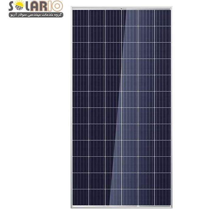 تصویر پنل خورشیدی 320 وات پلیکریستال تابان TBM72-320P