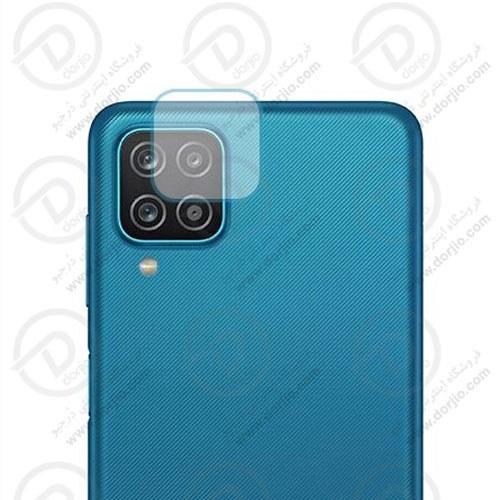 تصویر محافظ لنز شیشهای دوربین Galaxy A12