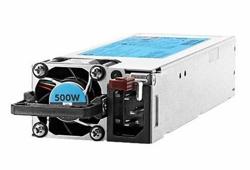 main images پاور سرور اچ پی مدل 720478-بی 21 با توان خروجی 500 وات پاور اچ پی 720478-B21 500W Flex Slot Platinum Hot Plug Server Power Supply