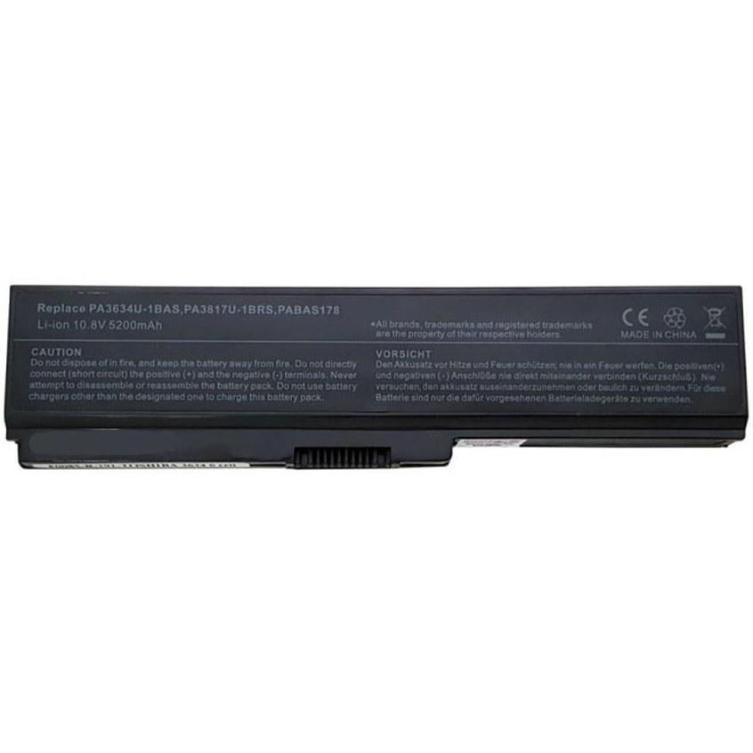 تصویر باتری لپ تاپ توشیبا PA3634U-1BAS مناسب برای لپ تاپ توشیبا PA3635-PA3728 شش سلولی باتری لپ تاپ توشیبا PA3634U-1BAS مناسب برای لپ تاپ توشیبا PA3635-PA3728 شش سلولی