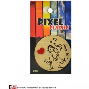 پیکسل طرح عشق کد 8022  