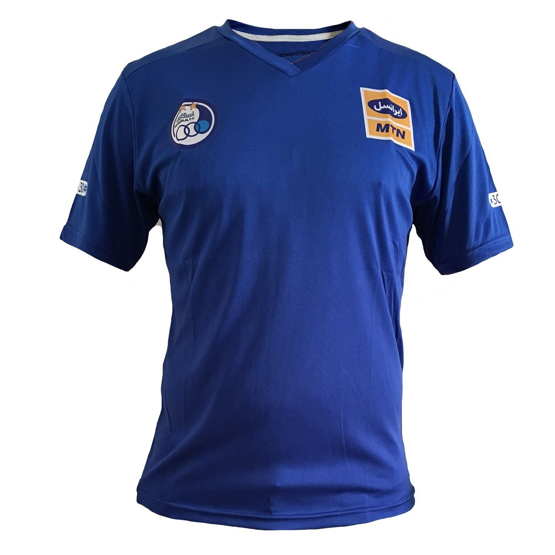 پیراهن هواداری استقلال ساده | Esteghlal FanClub Shirt