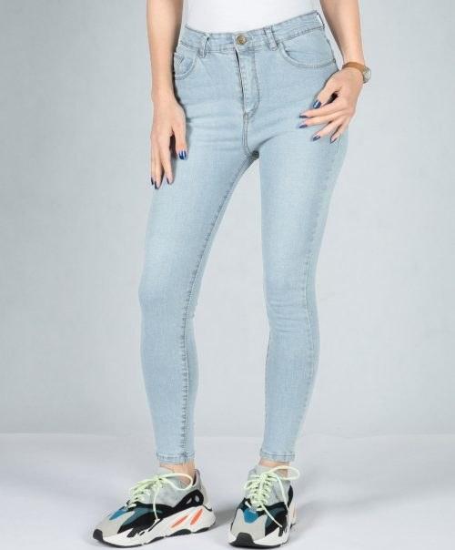 شلوار جین روشن ساده دخترانه |