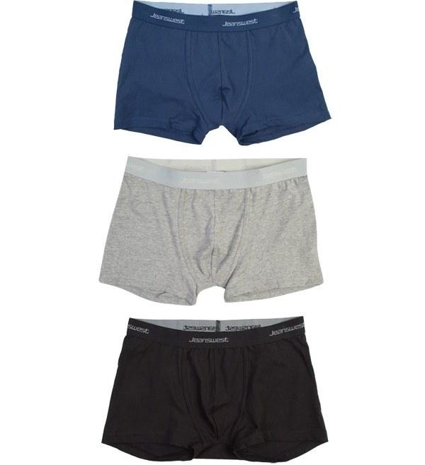 شورت مردانه باکسر سه تایی جین وست Jeanswest