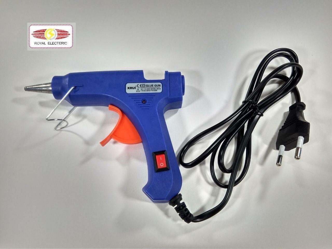 عکس چسب تفنگی ایکس روی مدل E20W  چسب-تفنگی-ایکس-روی-مدل-e20w