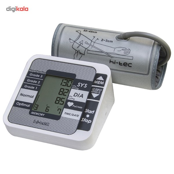 img فشار سنج دیجیتال گلامور TMB-1112 Glamor TMB-1112 Upper Arm Blood Pressure Monitor