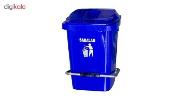 تصویر سطل زباله صنعتی سبلان 20 لیتری