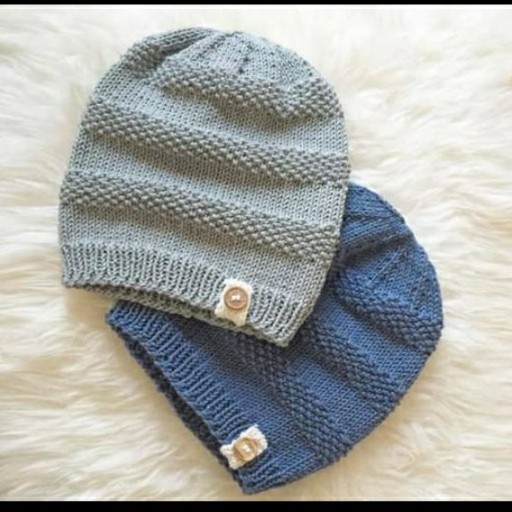 عکس کلاه بافتنی بچهگانه  کلاه-بافتنی-بچه-گانه
