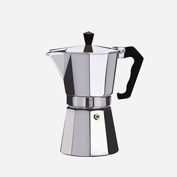 تصویر قهوه جوش و اسپرسو ساز آلومینیوم 1 کاپ