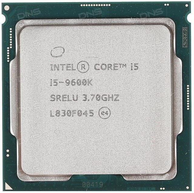 پردازنده تری اینتل مدل آی فایو ۹۶۰۰K با فرکانس ۳.۷ گیگاهرتز | Intel Core i5-9600K 3.70GHz LGA 1151 Coffee Lake TRAY CPU