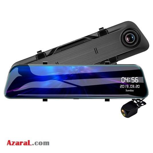 آینه مانیتوردار دو دوربین کد ۱۲۰-DR