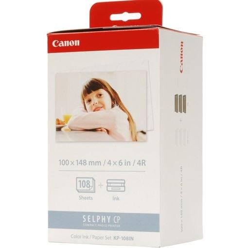 تصویر کارتریج رنگی پرینتر کانن مدل KP-108IN Canon KP-108IN Cartridge