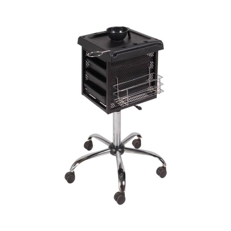 تصویر میز ترولی جکدار صنعت نواز مدل SN-2012 Industrial trolley table with SN-2012 model