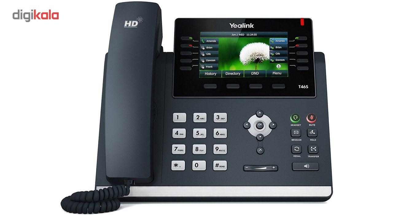 img تلفن تحت شبکه یالینک SIP T46S Yealink SIP T46S IP Phone