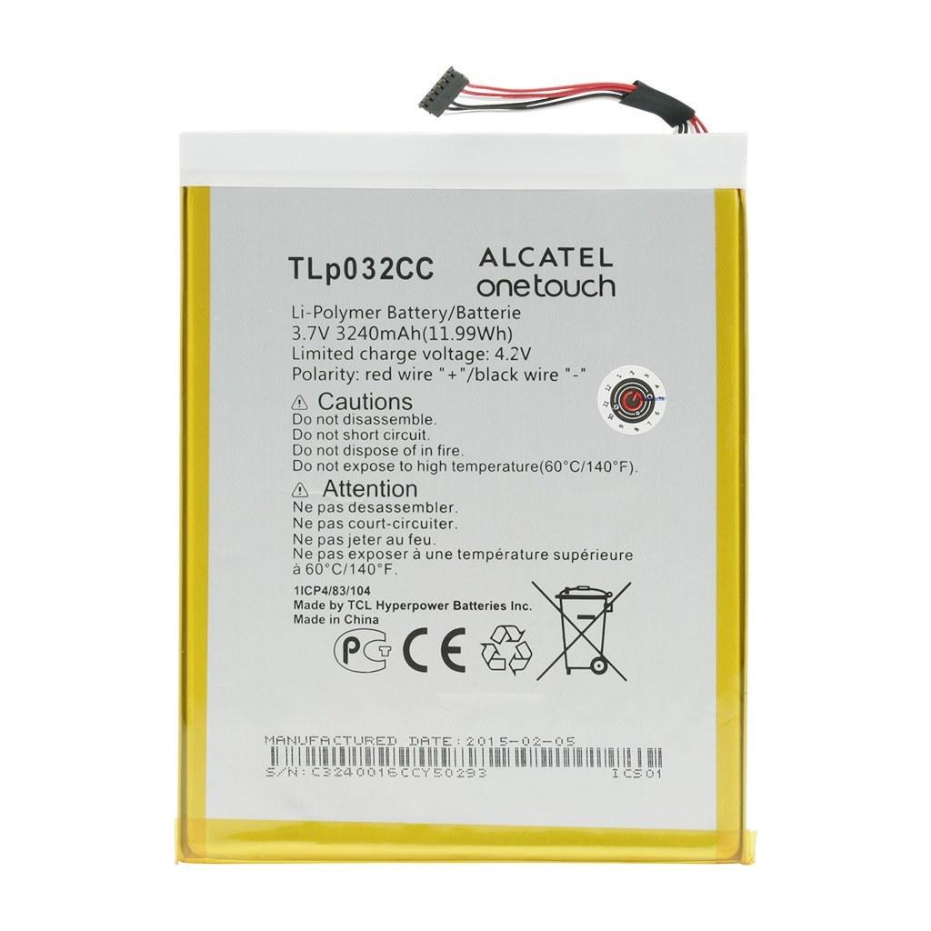 تصویر باتری اورجینال تبلت آلکاتل Pixi 8 مدل TLp032CC ظرفیت 3240 میلی آمپر ساعت Alcatel Pixi 8 - TLp032CC 3240mAh Original Battery