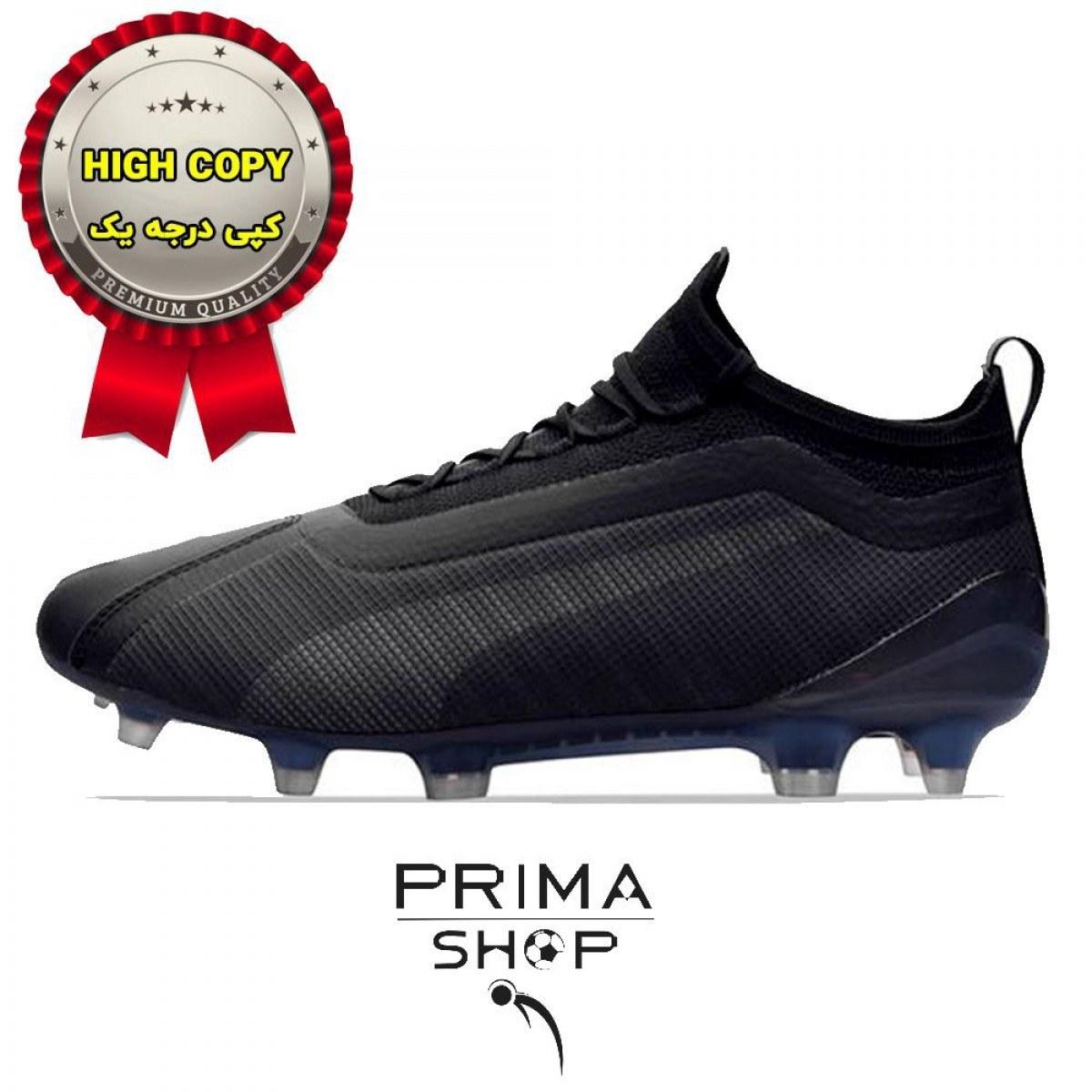 تصویر خرید کفش فوتبال پوما وان 5.1 مشکی های کپی