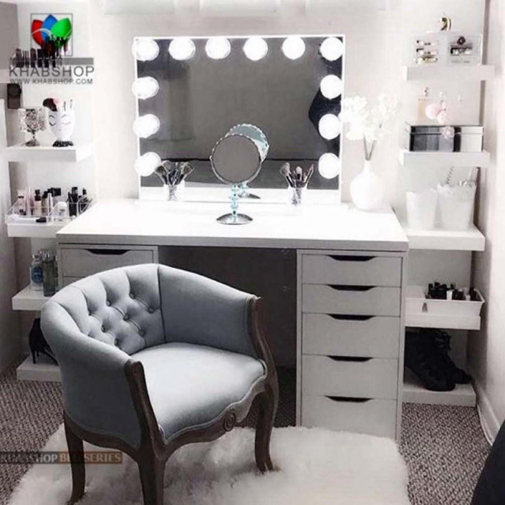 تصویر ست میز آرایش و آینه 14