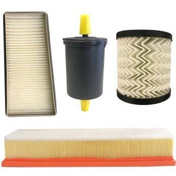 فیلتر روغن خودرو آرو مدل 50793 مناسب برای رانا به همراه فیلتر هوا و فیلتر کابین و فیلتر سوخت  