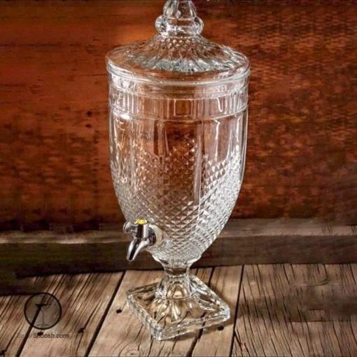 تصویر کلمن شیشه ای پاشاسازه طرح 2