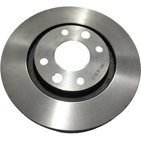 تصویر دیسک ترمزپژو 206 تیپ5  چرخ جلو دینا پارت
