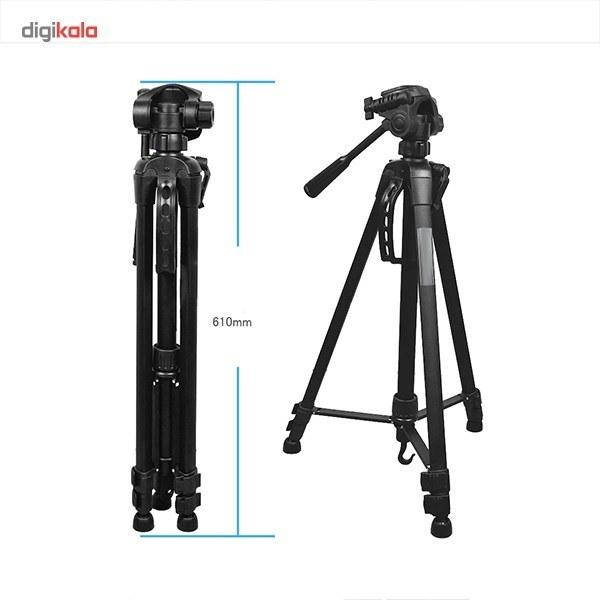 img سه پایه دوربین ویفنگ مدل WT-۳۵۴۰ Weifeng WT-3540 Camera Tripod