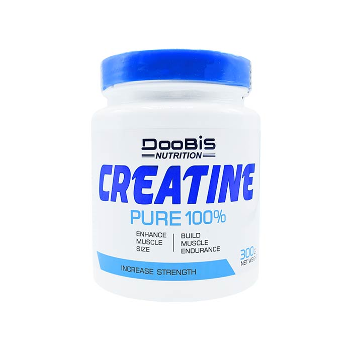 پودر کراتین پیور 100 درصد 300 گرمی دوبیس | Doobis Creatine Pure 100% 300 g