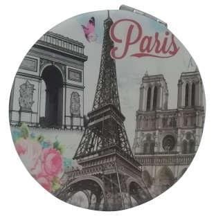 آینه جیبی طرح پاریس کد 01  